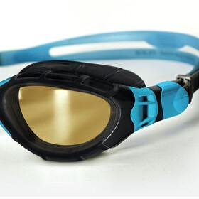 Zoggs Predator Flex Lunettes de protection Polarized Ultra, black/blue/copper